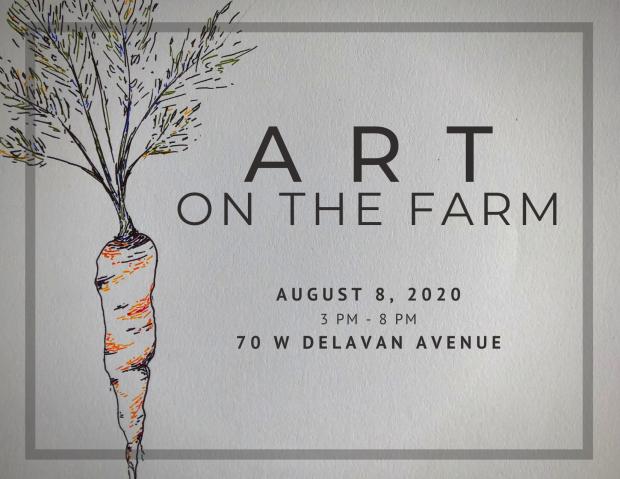 Copy of Art on the Farm 2020 Flyer